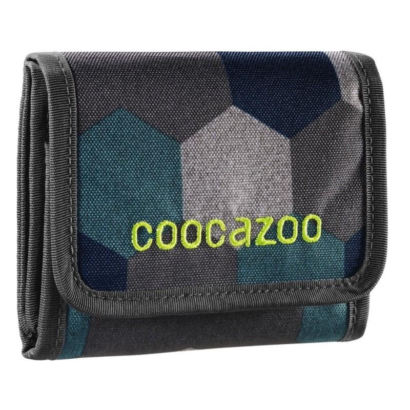 Coocazoo CASHDASH Dětská peněženka - Blue Geometric