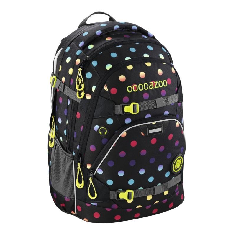 Coocazoo SCALERALE Školní batoh od 3.třídy - Magic Polka C, certifikát AGR