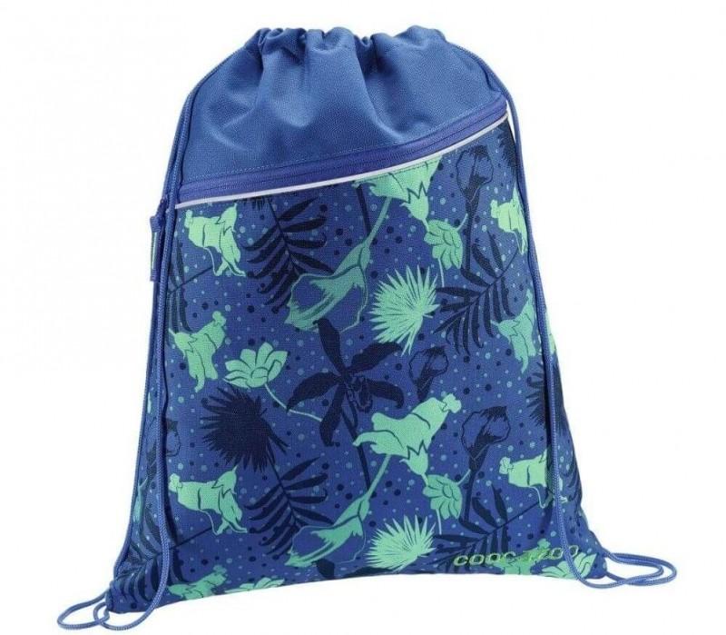 Coocazoo SPORTOVNÍ PYTEL na záda - Tropical Blue