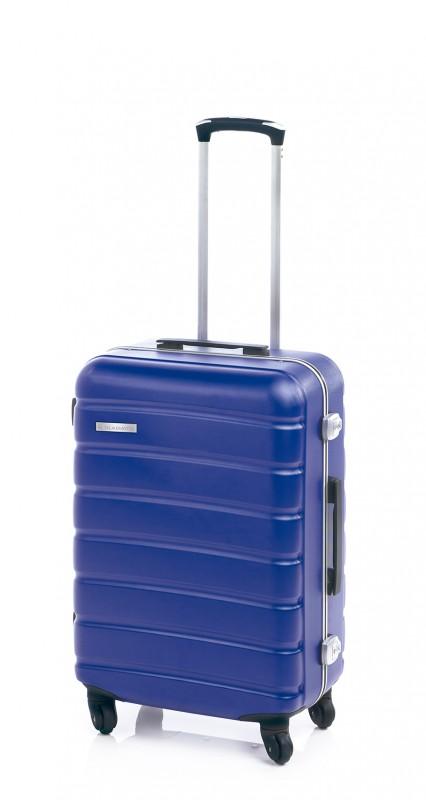 Gladiator LERIA Vodotěsný polykarbonový kufr s hliníkovým rámem 76cm (Blue)