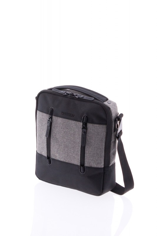 Vogart TOKYO Malá taška přes rameno (Black/ Grey)