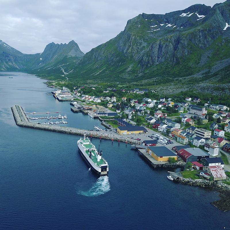 Gryllefjord - Norsko