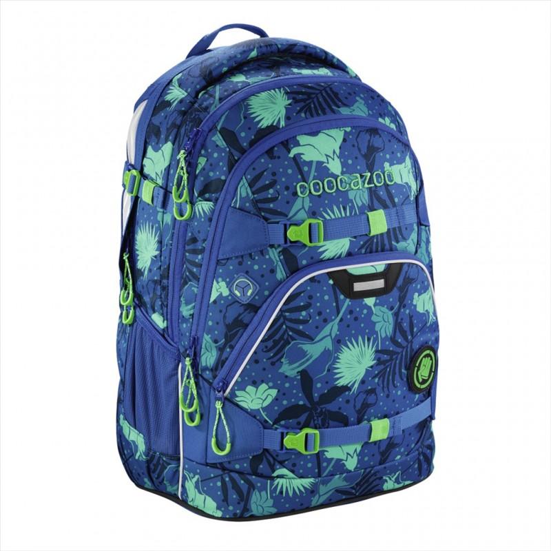 Coocazoo SCALERALE Školní batoh od 3.třídy - Tropical Blue, certifikát AGR