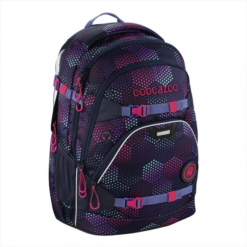 Coocazoo SCALERALE Školní batoh od 3.třídy - Purple Illusi, certifikát AGR