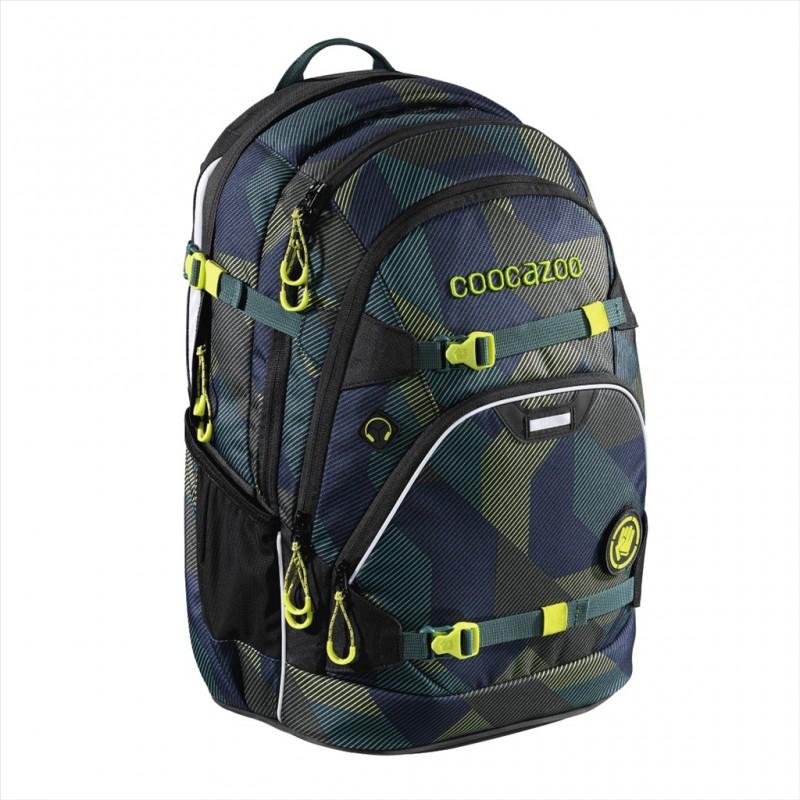 Coocazoo SCALERALE Školní batoh od 3.třídy - Polygon Brick, certifikát AGR