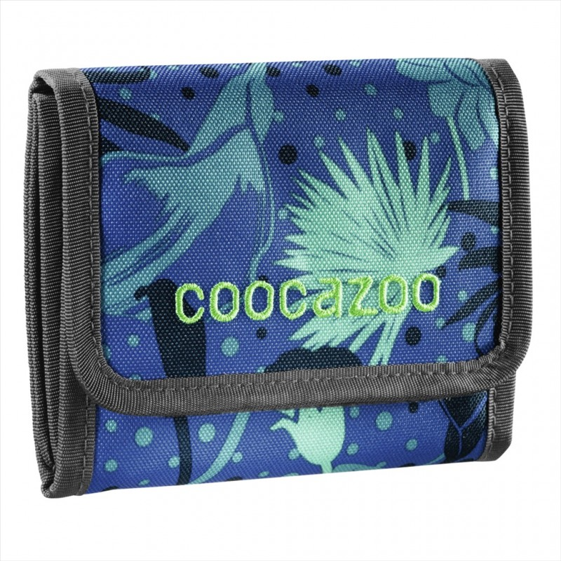 Coocazoo CASHDASH Dětská peněženka - Tropical Blue