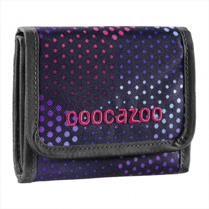Coocazoo CASHDASH Dětská peněženka - Purple Illusion