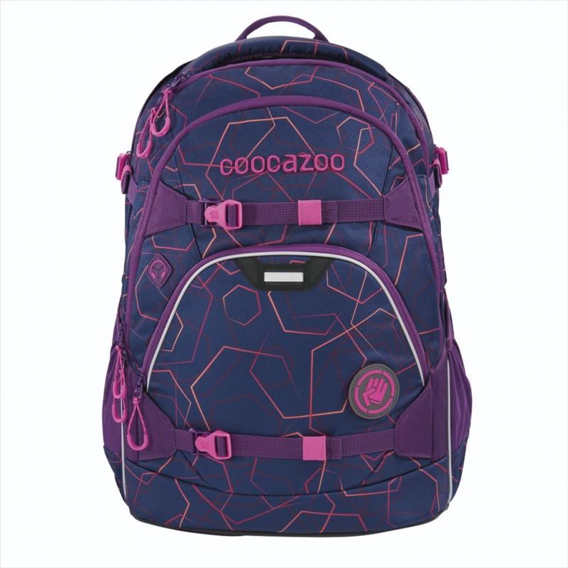 Coocazoo SCALERALE Školní batoh od 3.třídy - Laserbeam Plum, certifikát AGR