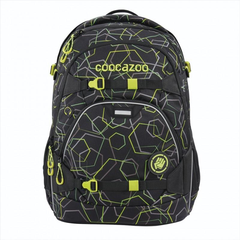 Coocazoo SCALERALE Školní batoh od 3.třídy - Laserbeam Black, certifikát AGR