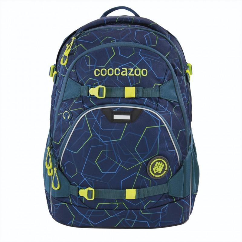 Coocazoo SCALERALE Školní batoh od 3.třídy - Laserbeam Blue, certifikát AGR