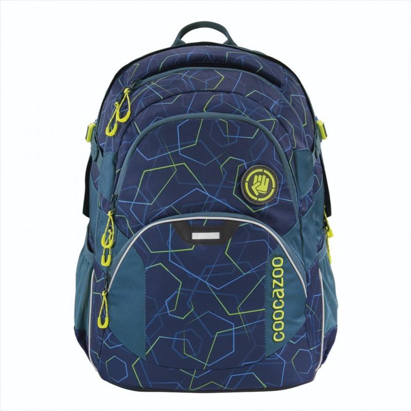 Coocazoo JOBJOBBER2 Školní batoh - Laserbeam Blue