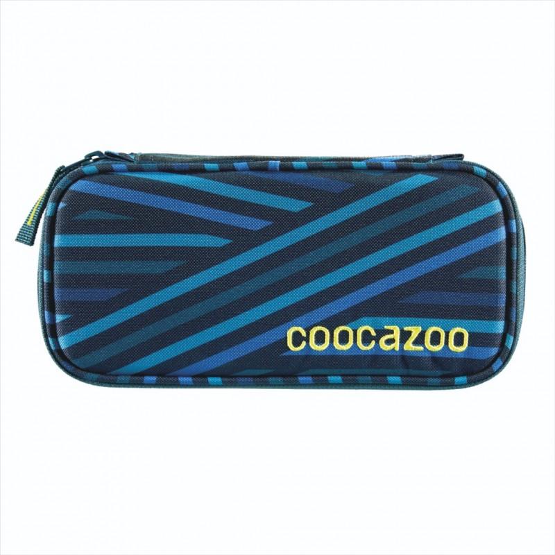Coocazoo ŠKOLNÍ PENÁL - Zebra Stripe Blue