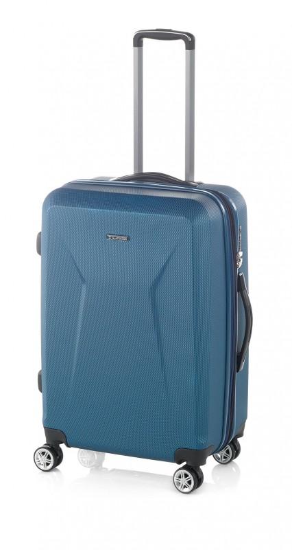 Gladiator IGUANA Velký rozšířitelný cestovní kufr z ABS 78cm (Prusia Blue)