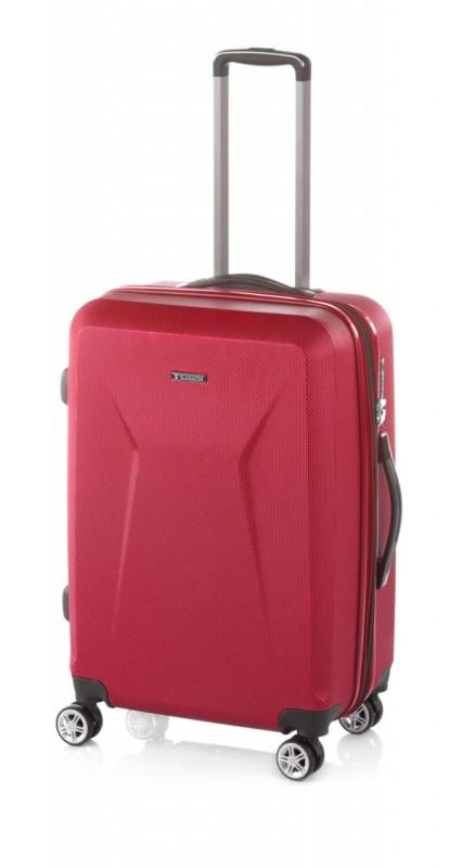 Gladiator IGUANA Rozšířitelný cestovní kufr z ABS 68cm (Red)