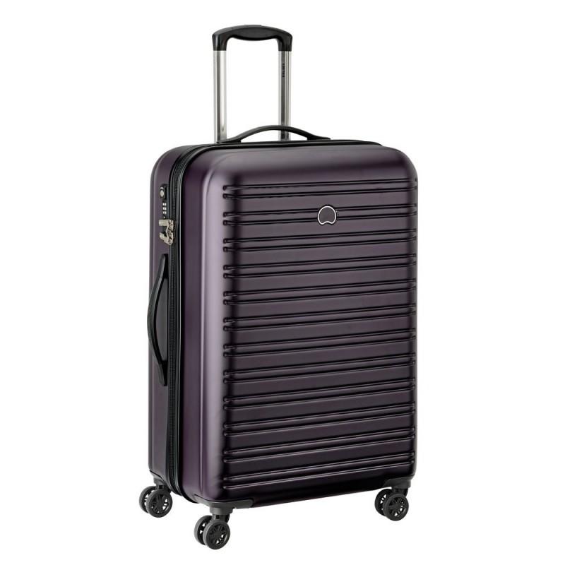 Delsey SEGUR Cestovní kufr 4 dvojitá kola 70cm (Lilac)