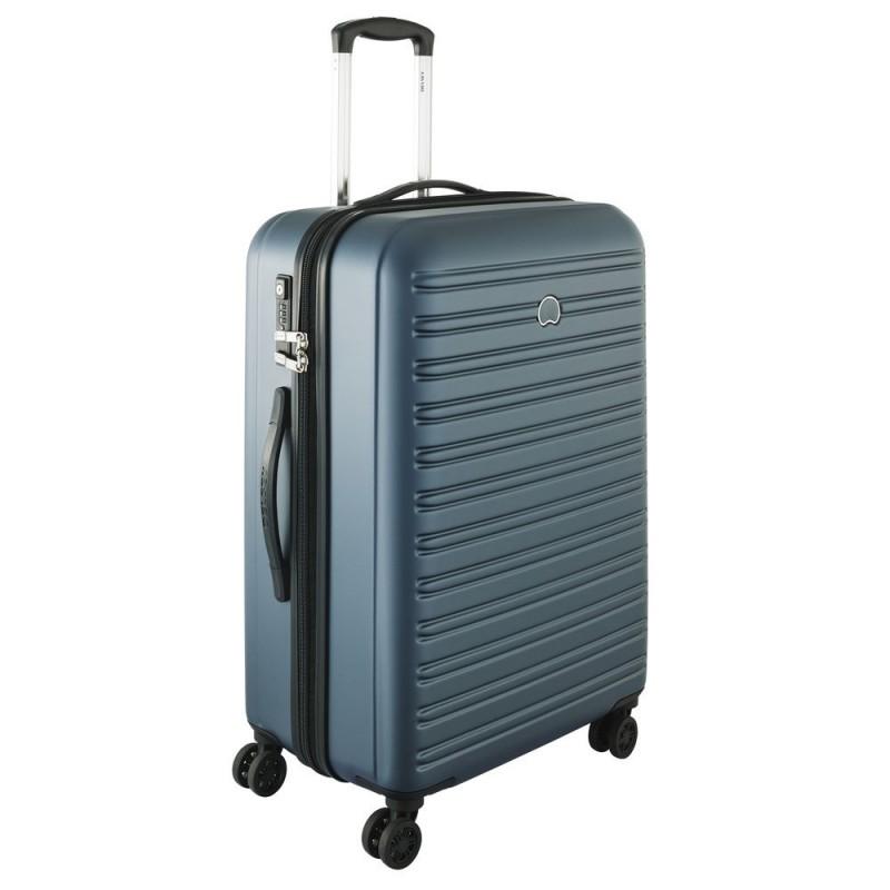 Delsey SEGUR Cestovní kufr 4 dvojitá kola 70cm (Blue)