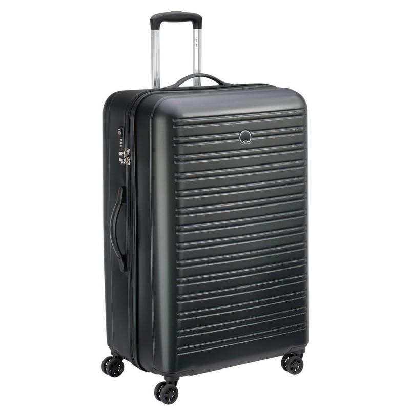 Delsey SEGUR Velký cestovní kufr 4w 81 cm (Black)