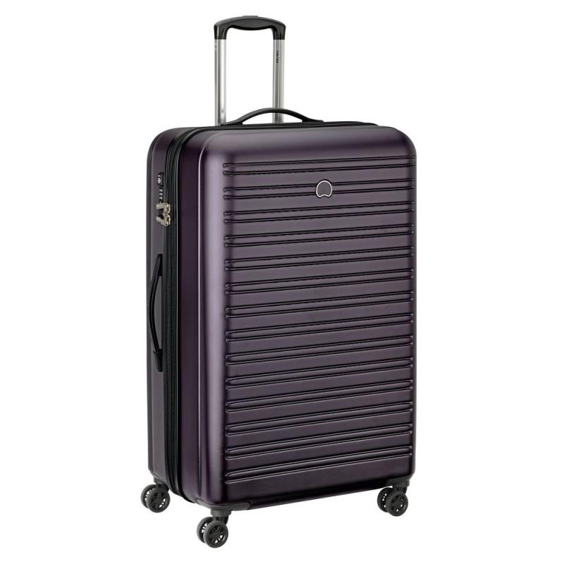 Delsey SEGUR Velký cestovní kufr 4w 81 cm (Lilac)