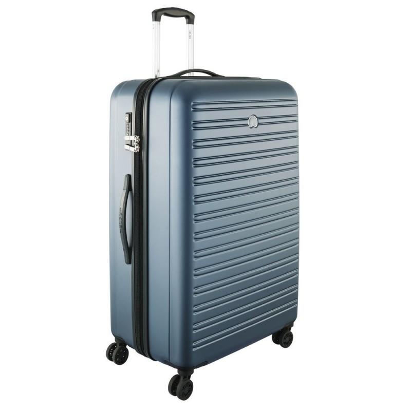 Delsey SEGUR Velký cestovní kufr 4w 81 cm (Blue)