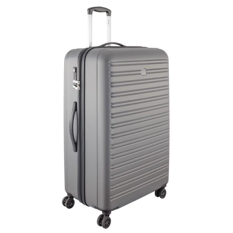 Delsey SEGUR Velký cestovní kufr 4w 81 cm (Grey)