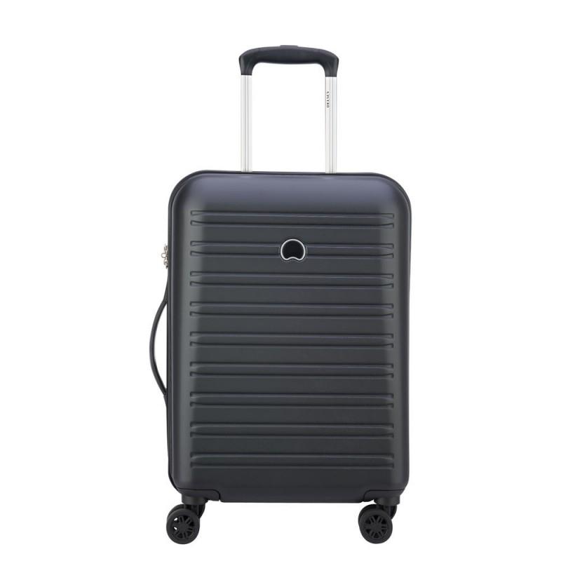 Delsey SEGUR Kabinový kufr 4w 55 cm SLIM (Black)