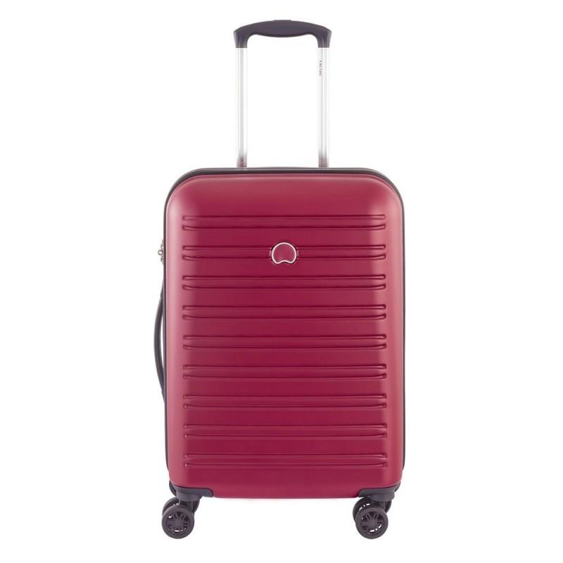 Delsey SEGUR Kabinový kufr 4w 55 cm SLIM (Red)