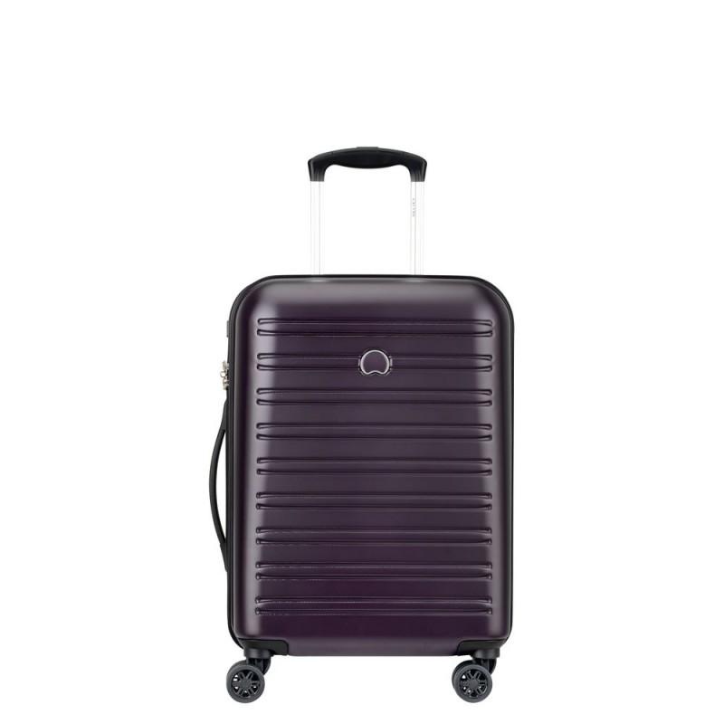 Delsey SEGUR Kabinový kufr 4w 55 cm SLIM (Lilac)