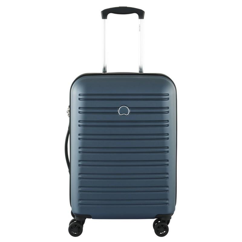 Delsey SEGUR Kabinový kufr 4w 55 cm SLIM (Blue)
