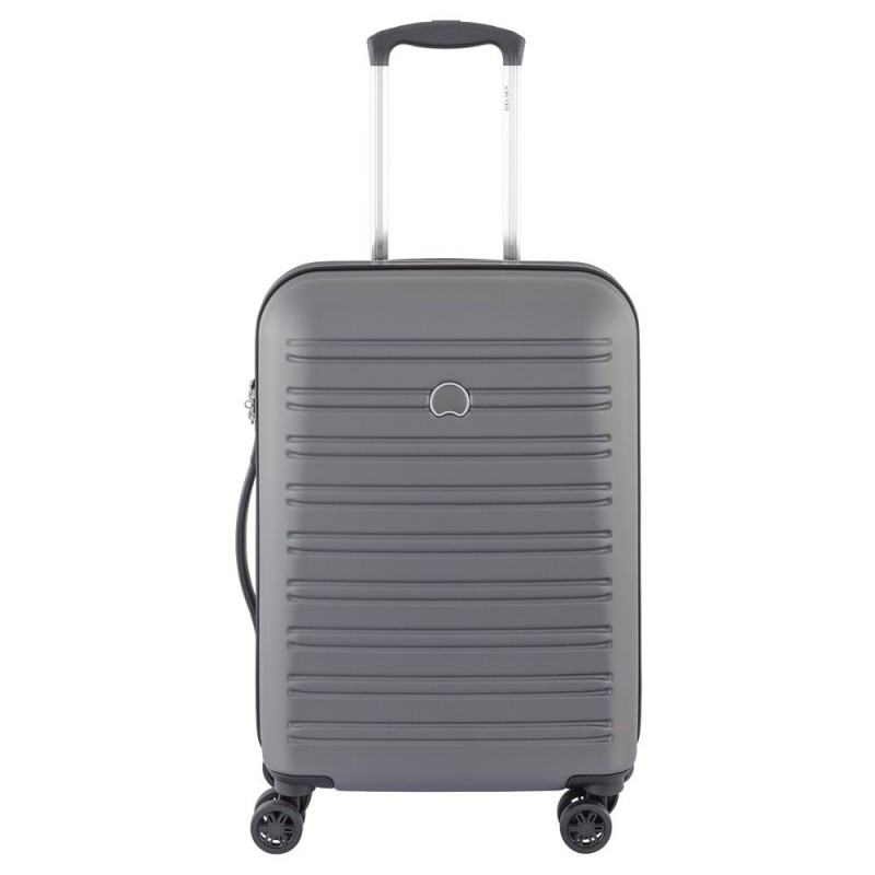 Delsey SEGUR Kabinový kufr 4w 55 cm SLIM (Grey)