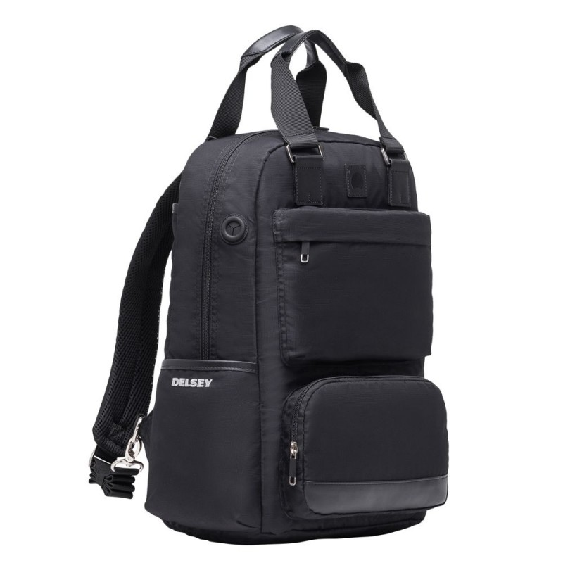 "Delsey LEGERE Úžasný batoh pro 15,6"" NTB (Black)"