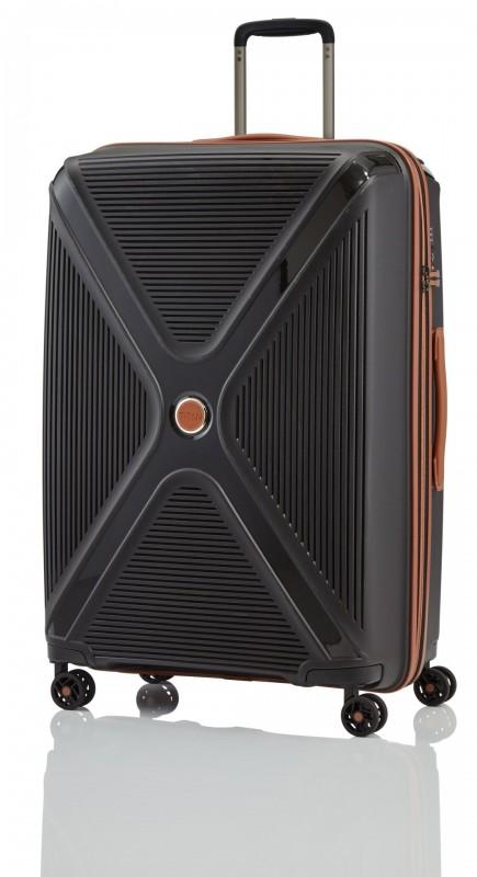 Titan PARADOXX Velký skořepinový kufr 77cm (Black)