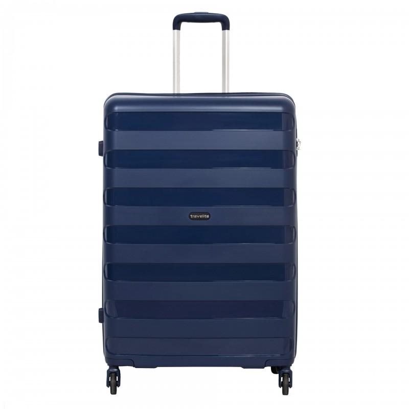 Travelite NOVA Odolný kufr z polypropylenu 75cm (Navy)