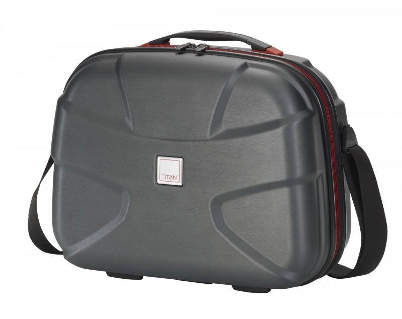 Titan X2 BRUSHED Kosmetický kufřík (Black)