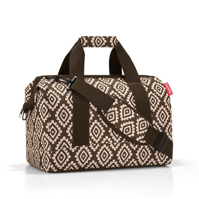 Reisenthel ALLROUNDER Cestovní taška přes rameno, M (Diamonds Mocha)