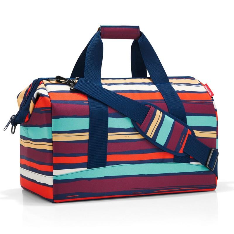Reisenthel ALLROUNDER Cestovní taška přes rameno, L (Artists Stripes)