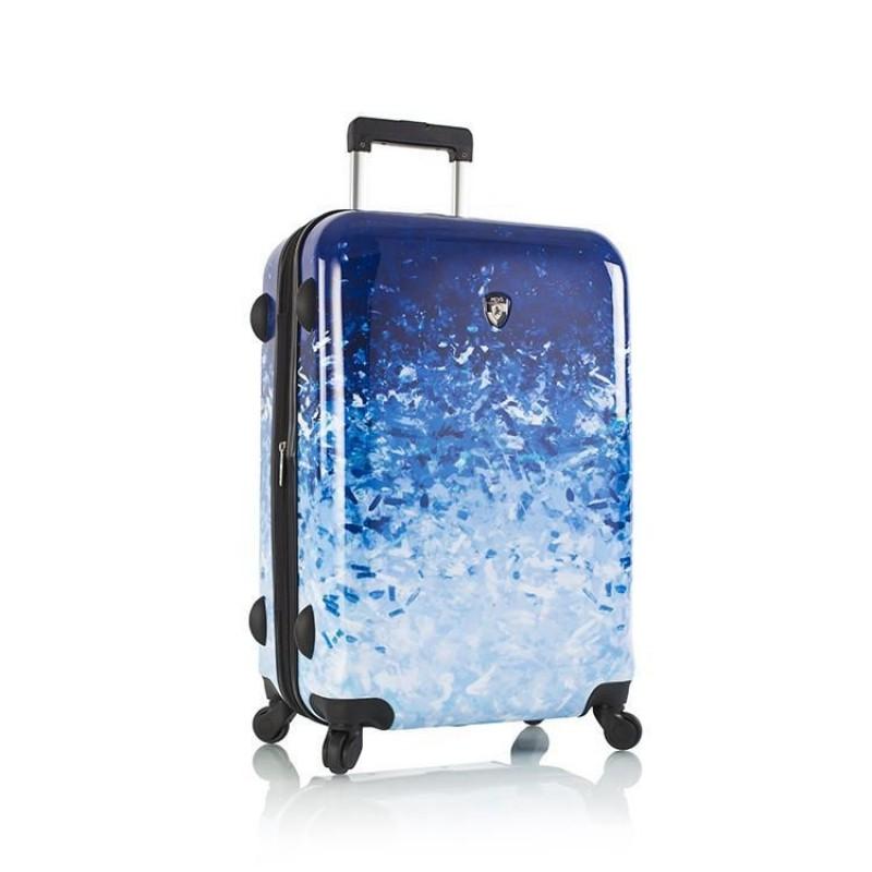 Heys BLUE SKIES Supermoderní kufr s unikátním potiskem 66 cm