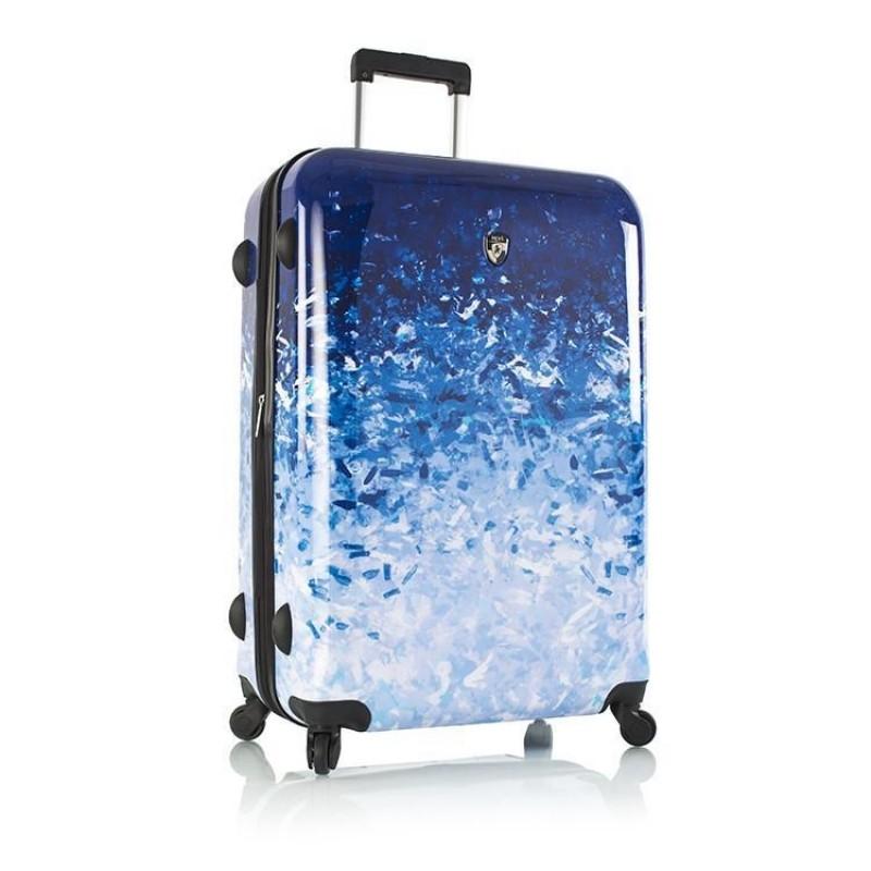 Heys BLUE SKIES Supermoderní kufr s unikátním potiskem 76 cm