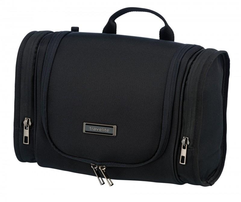 Travelite MOBILE Textilní kosmetická taška (Black)