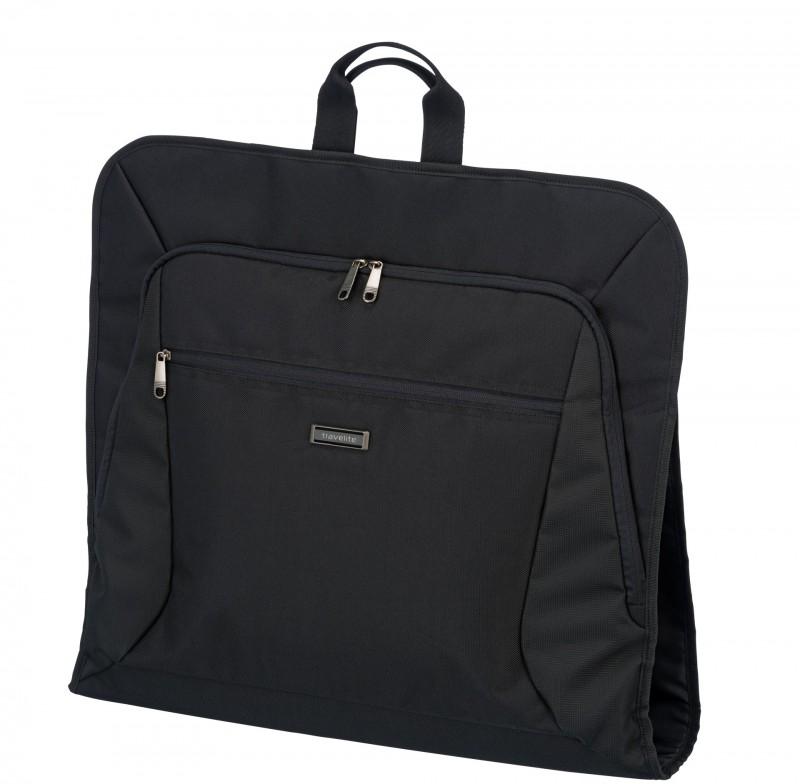 Travelite MOBILE Textilní skládací obal na oblek i róbu (Black)