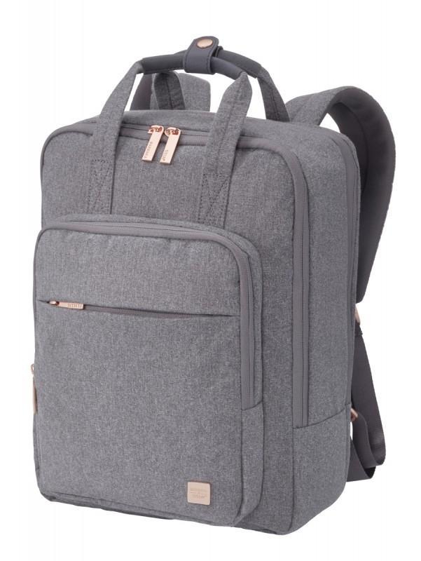 Titan BARBARA Elegantní dvoukomorový dámský batoh 14 NTB (Grey)