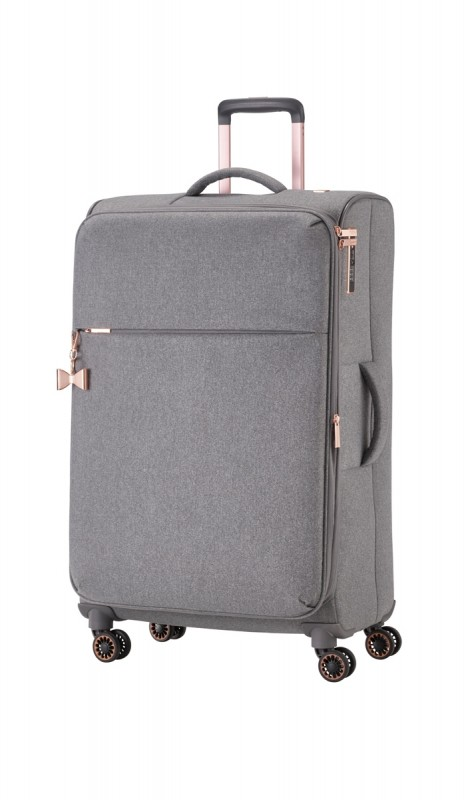 Titan BARBARA Vodoodpudivý kufr pro dámy 79cm (Grey)