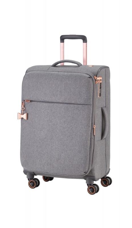 Titan BARBARA Vodoodpudivý kufr pro dámy 67cm (Grey)