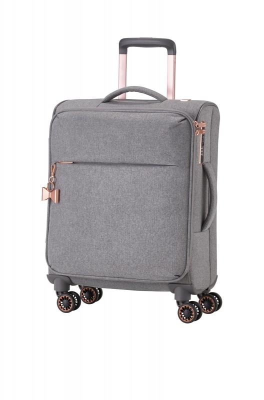 Titan BARBARA Vodoodpudivý kabinový kufr pro dámy 55cm (Grey)