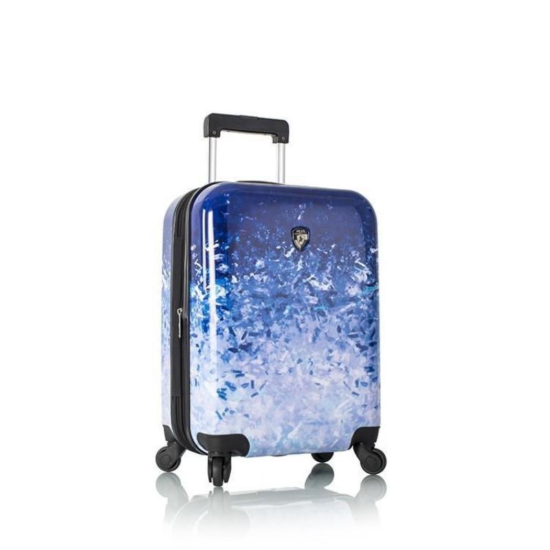Heys BLUE SKIES Supermoderní kufr s unikátním potiskem 53 cm