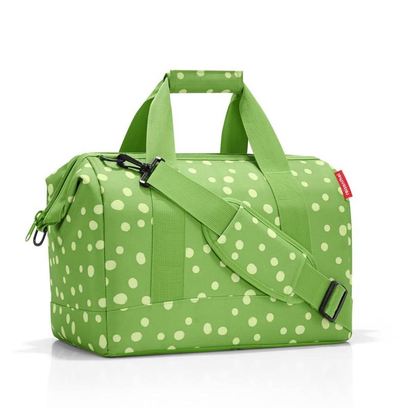 Reisenthel ALLROUNDER Cestovní taška přes rameno, M (Spots Green)