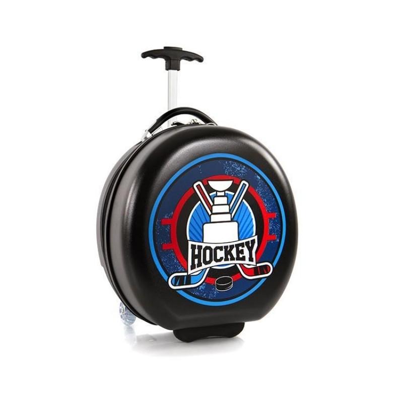 Heys KIDS Dětský kufr, motiv Hockey puck
