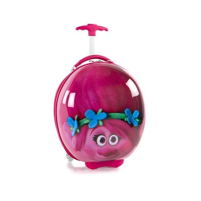 Heys KIDS Dětský kufr, motiv Trolls Pink