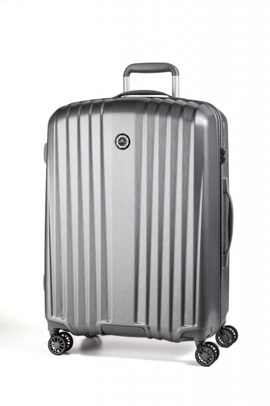 March EVEREST Palubní extra lehký kufr 55cm (Silver)