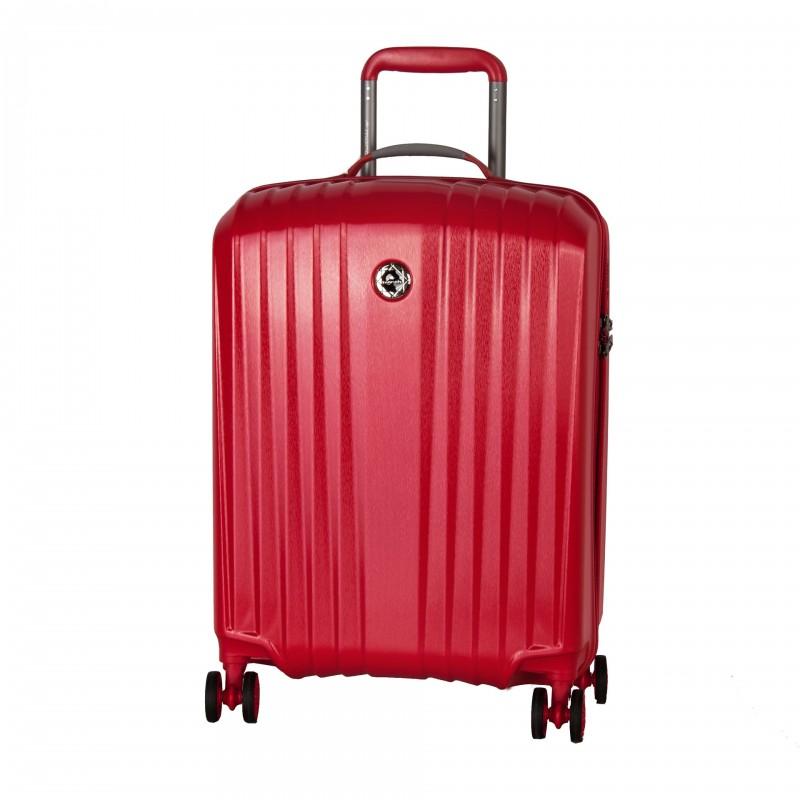 March EVEREST Palubní extra lehký kufr 55cm (Red)