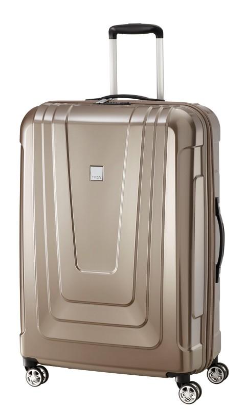 Titan X-RAY Extra lehký skořepinový kufr 77cm (Café au Lait)